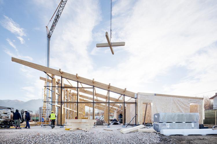 In Progress: Amatrice Refectory  / Stefano Boeri Architetti, © Francesco Mattuzzi
