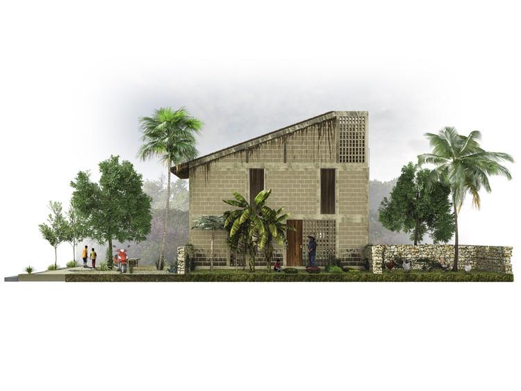 En Quintana Roo, México: Prototipo para INFONAVIT, por TACO taller de arquitectura contextual, Cortesía de TACO taller de arquitectura contextual