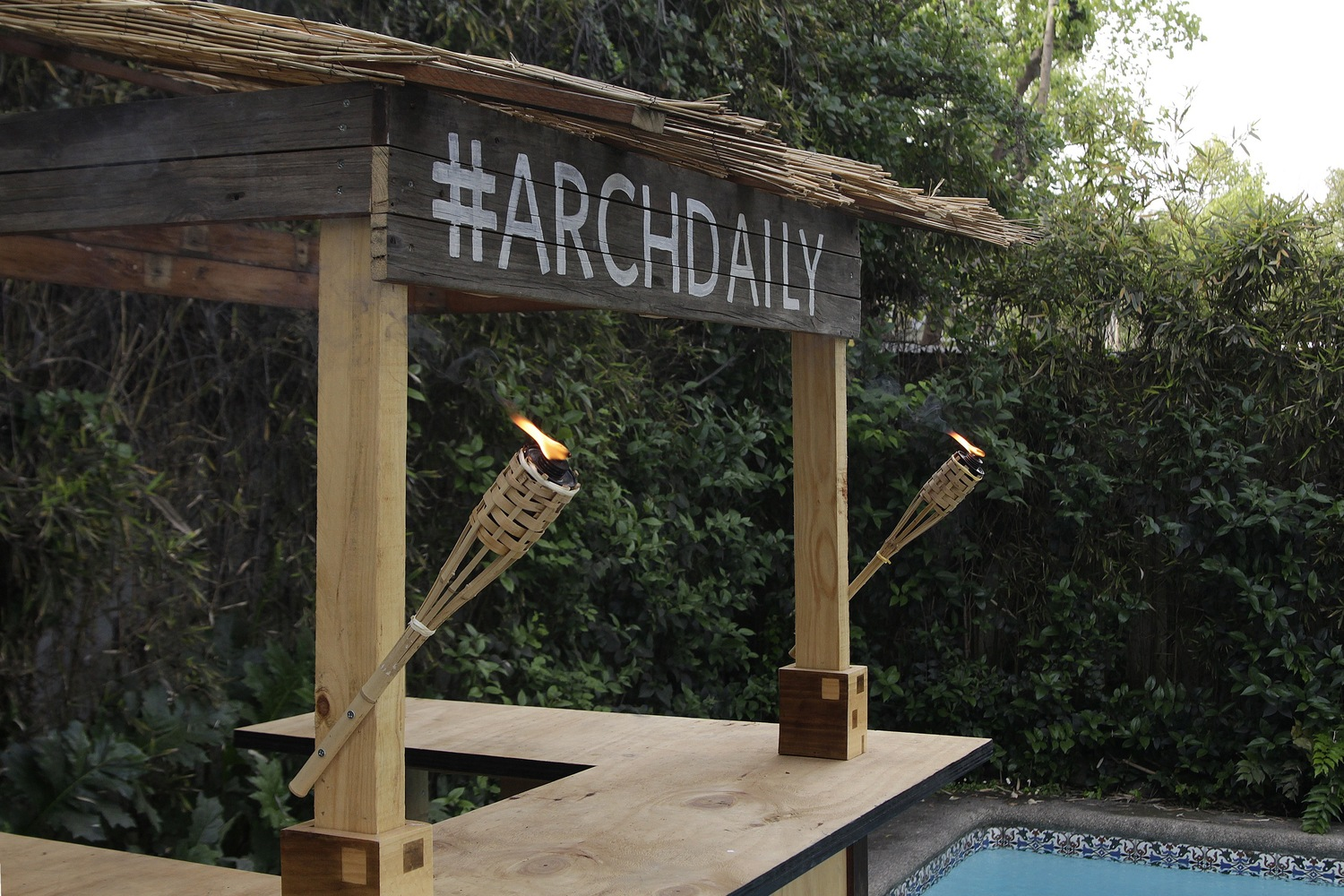 gallery of how to build a tiki bar in 18 easy to follow steps 18