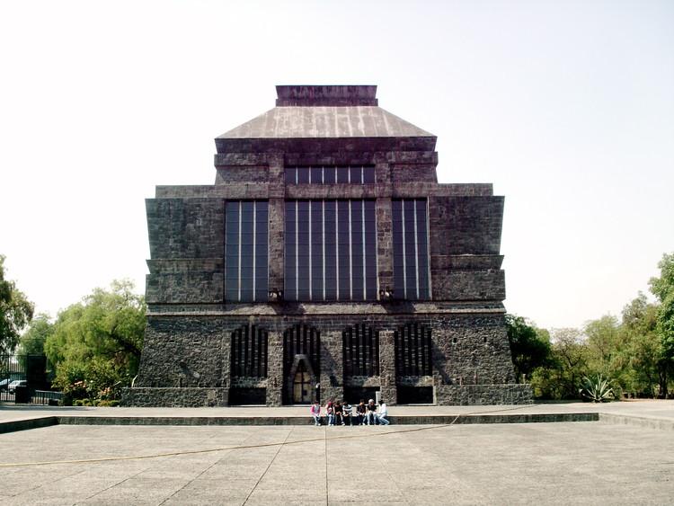 Ruth Rivera Marín: una arquitectura plural atenta a los factores culturales y a las circunstancias locales, Museo Anahuacalli. Image vía Wikipedia User: Juan Scott Licensed Under Public Domain