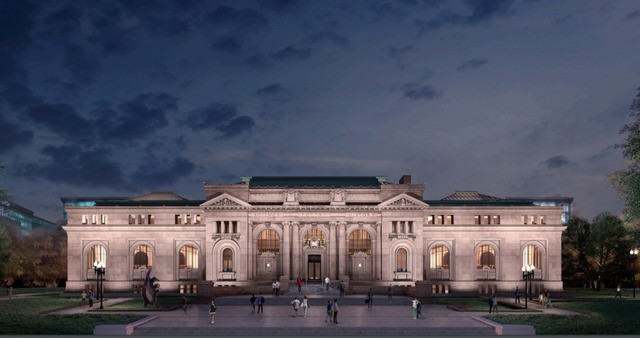 Foster + Partners-led Apple Store Transformation of DC's Historic Carnegie Library Gets Greenlight, Early renderings of the design. Image via 9to5 Mac