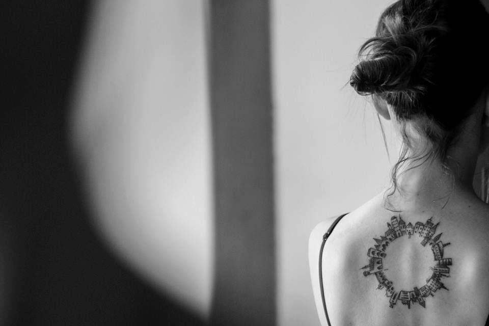 Gallery of 118 Impressive Architecture Tattoo Designs  - 32