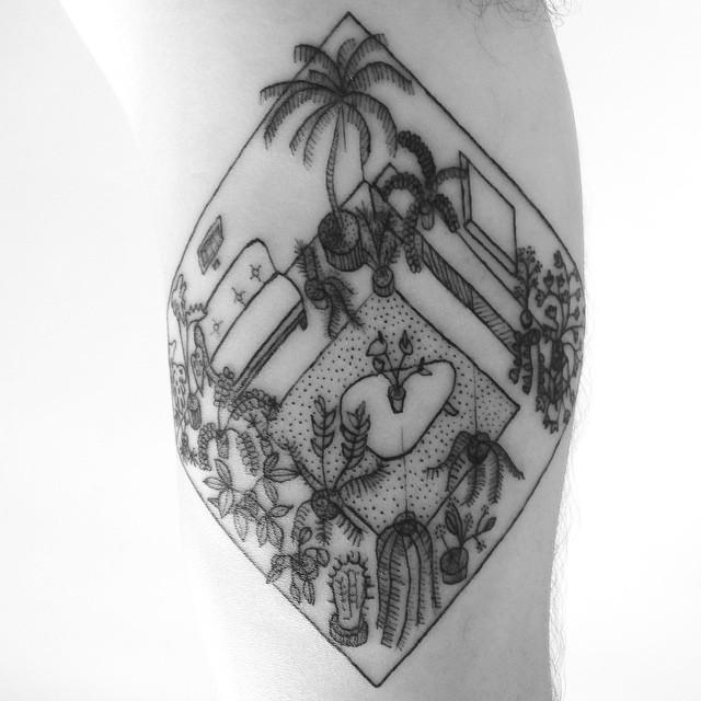118 Impressive Architecture Tattoo Designs Archdaily