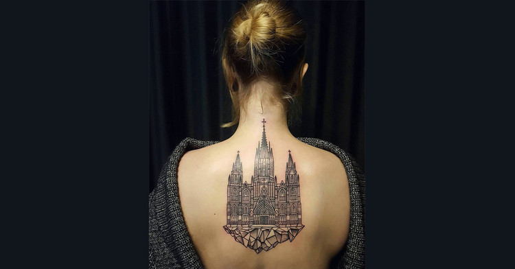 118 Impressive Architecture Tattoo Designs, stacy.hounsome. <a href='https://www.instagram.com/p/BPAmzuABpY2/'>Via Instagram</a>