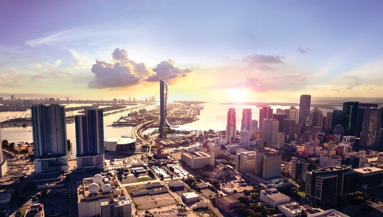 New Renderings Showcase Extreme Attractions of Arquitectonica's Future SkyRise in Miami, Courtesy of SkyRise Miami