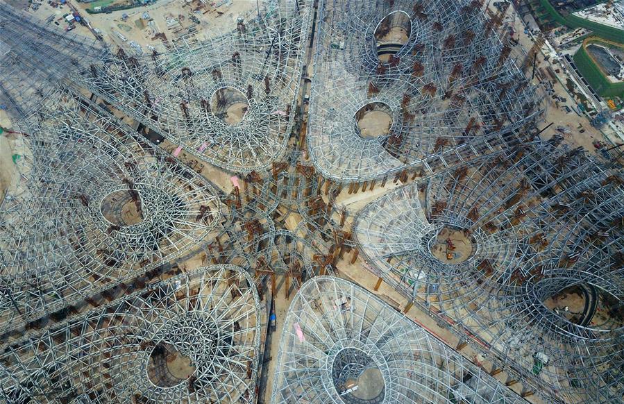 Conoce la estructura del nuevo aeropuerto de Beijing diseñado por Zaha Hadid Architects