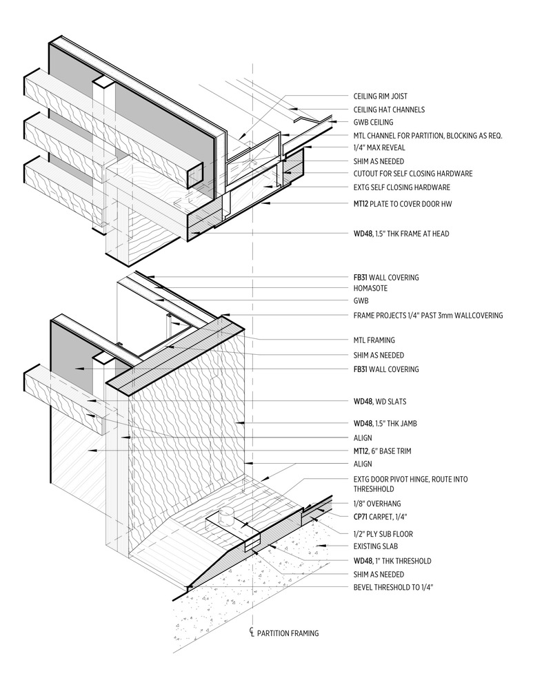 Slab Door Diagram