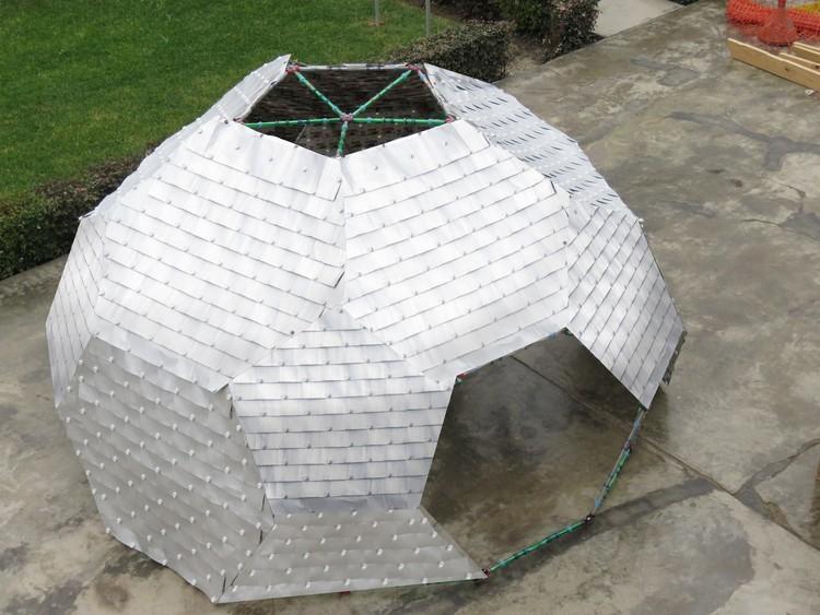 TUBOTELLA: estudiantes peruanos desarrollan estructura modular reciclada, Cortesía de Equipo TUBOTELLA