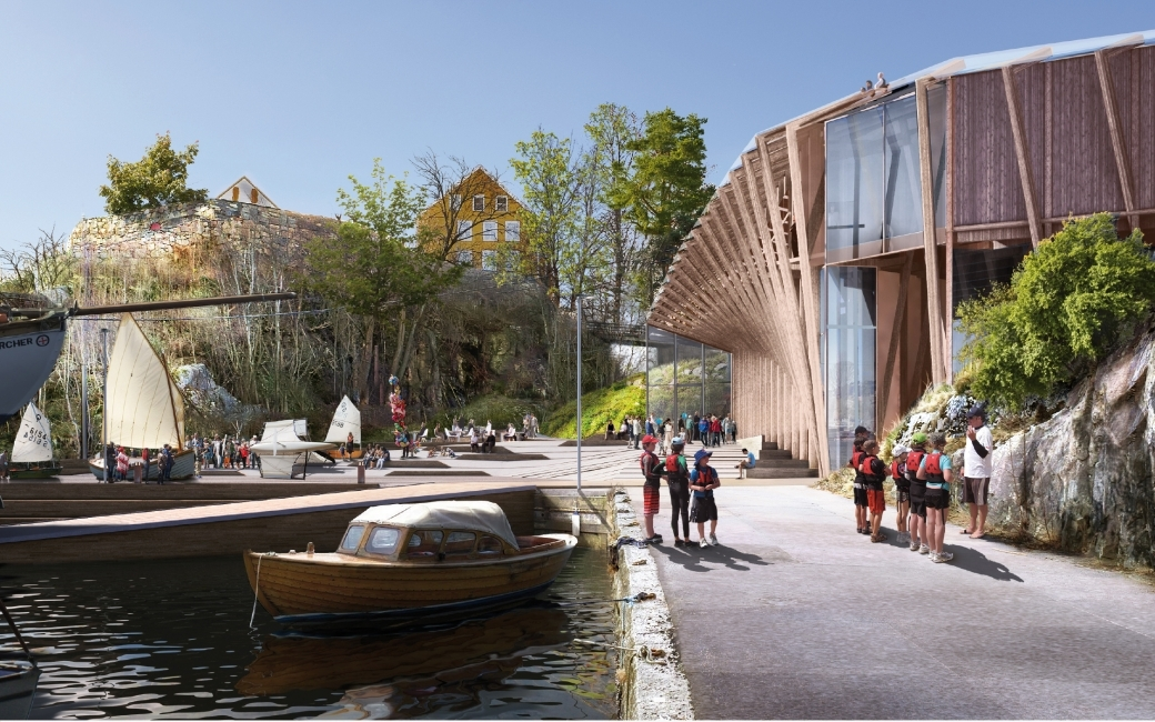 Gallery of Helen & Hard Win Competition to Built Waterfront