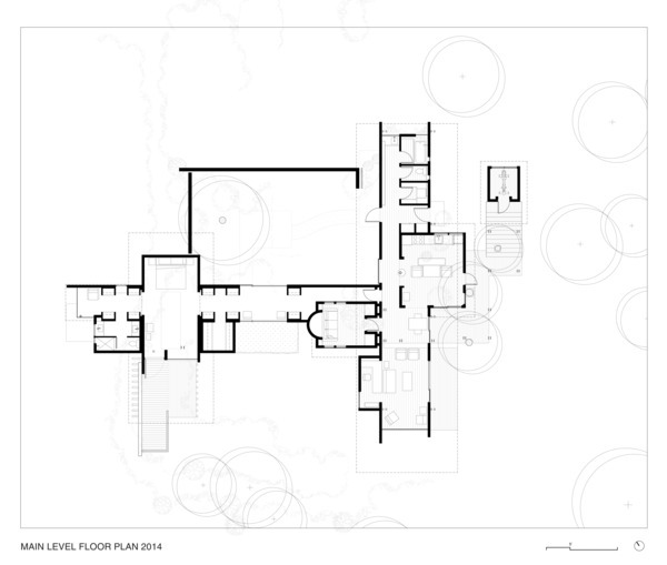 5960371db22e38e3c20000f6 Cabin At Longbranch Olson Kundig Main Level Floor Plan 2014 on Floor Plan Drawing