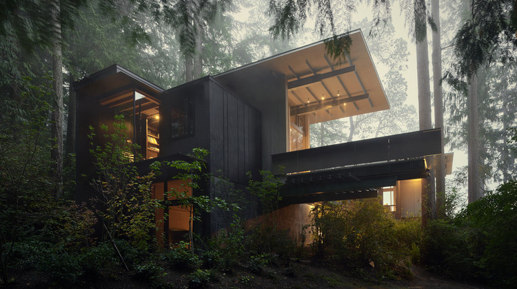 Cabin at Longbranch / Olson Kundig, © Kevin Scott