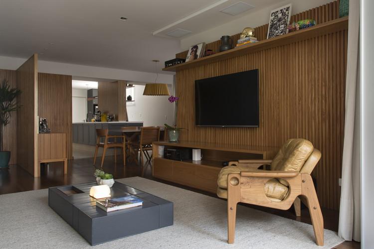 Apartamento Itaim Bibi / Díptico Design de Interiores, © Cacá Bratke