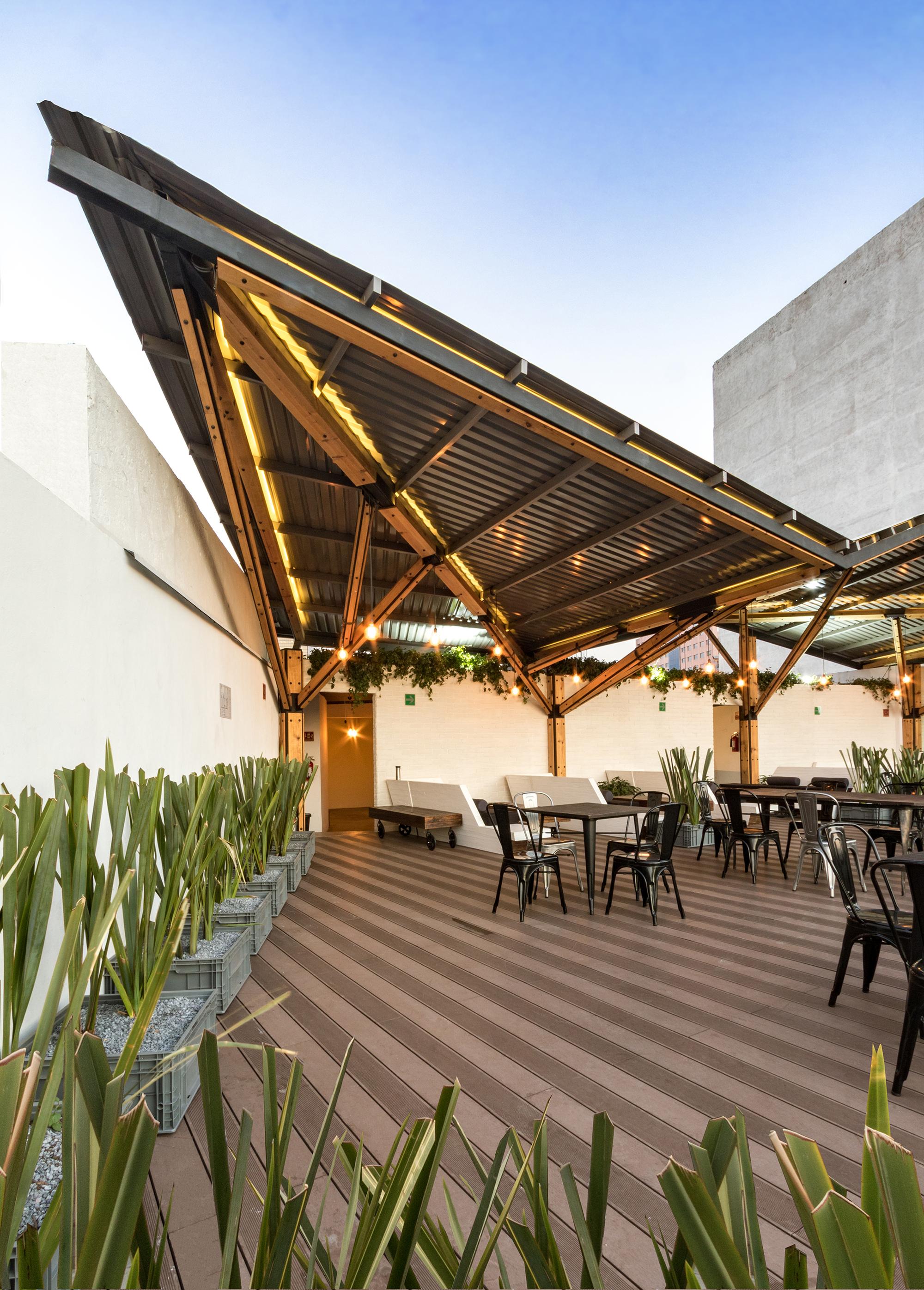 Timberland Terrace A 001 Taller De Arquitectura Archdaily
