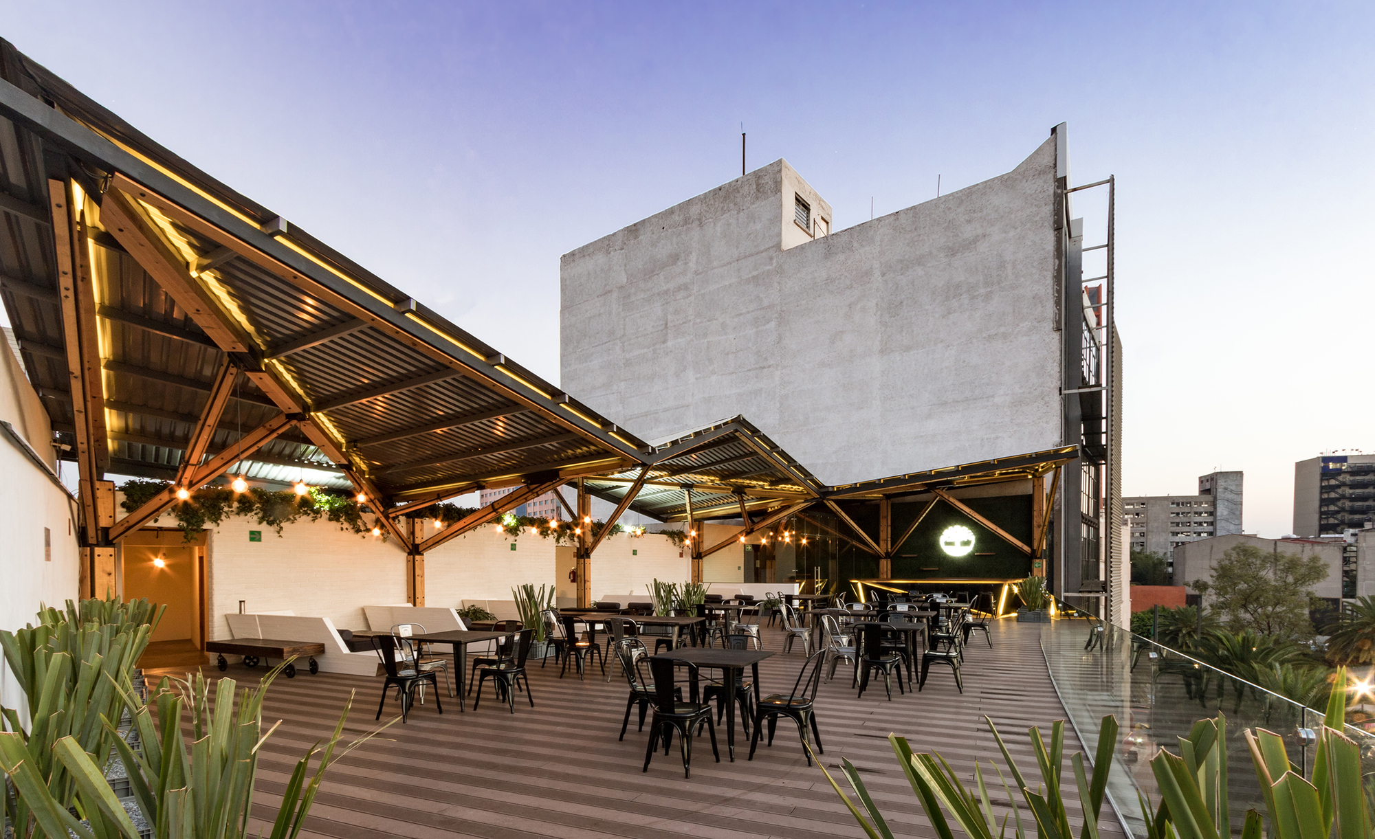 Terraza timberland a 001 taller de arquitectura for On arquitectura