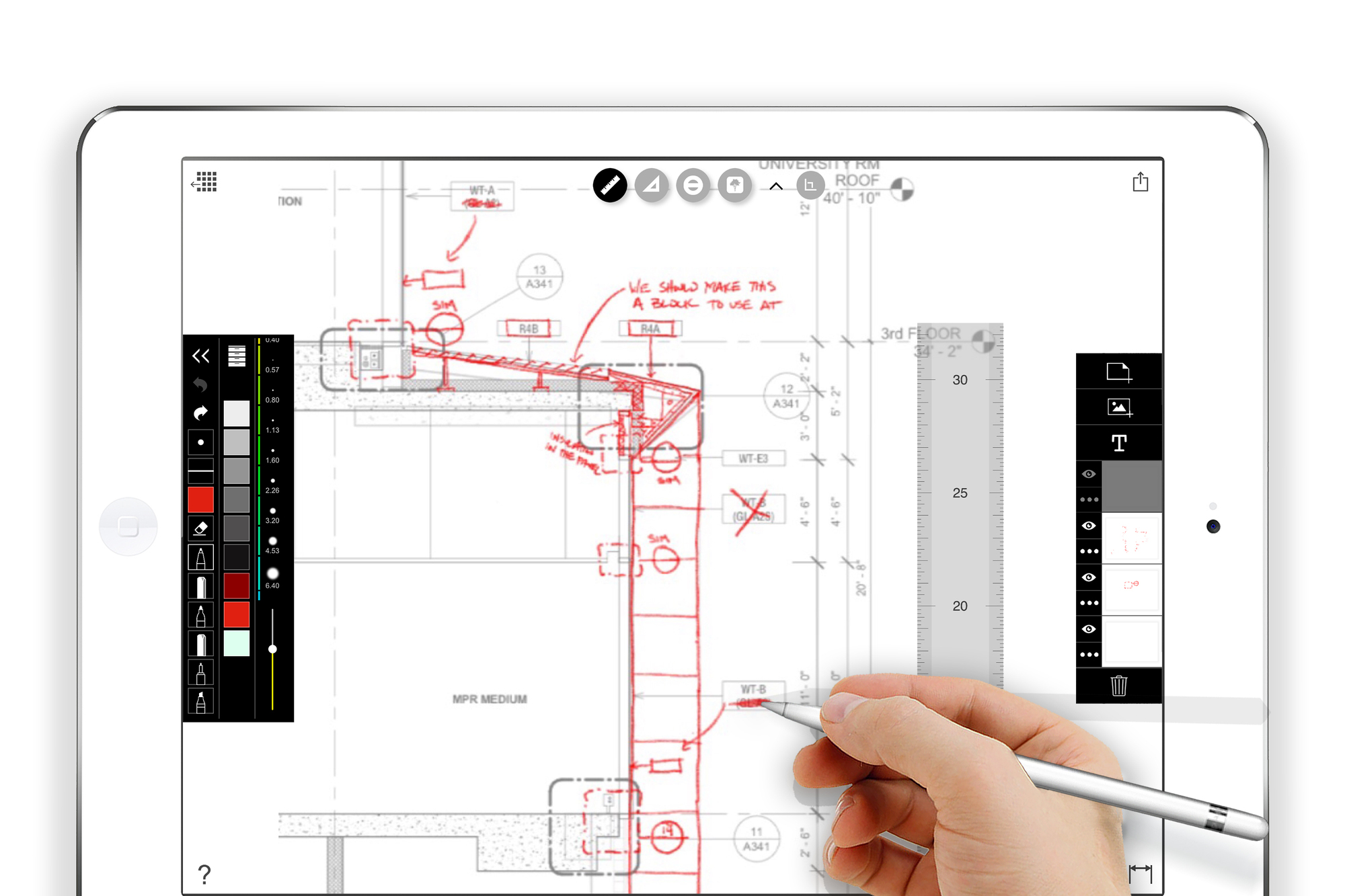 Decades after the rise of cad architecture is going - Floor plan drawing apps ...