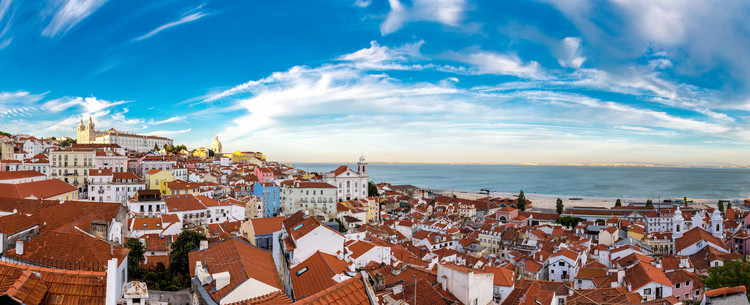 A Cruise from Lisbon to London, Panorama of Lisbon