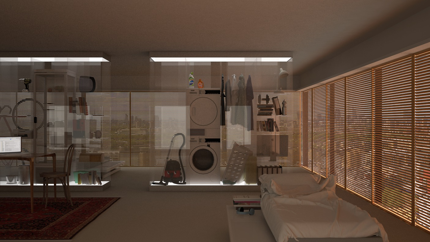 Interior Design By REAL Foundation For Common Stock Sharing As Luxury The Fourth Tower In Derivative Architecture Series