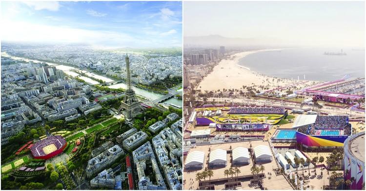 Paris y Los Angeles albergarán los Juegos Olímpicos de 2024 y 2028, Paris 2024, LA 2024. Image