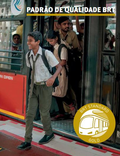Padrão de Qualidade BRT: Ferramenta para avaliação de corredores de BRT, Padrão de Qualidade BRT. Image © ITDP Brasil