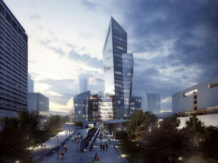 New Renderings Revealed of Studio Libeskind's Mixed-Use Complex in Lithuania, © Studio Libeskind