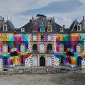 ARTIST BRINGS STRIKING POP SURREALISM TO AN ABANDONED FRENCH CASTLE