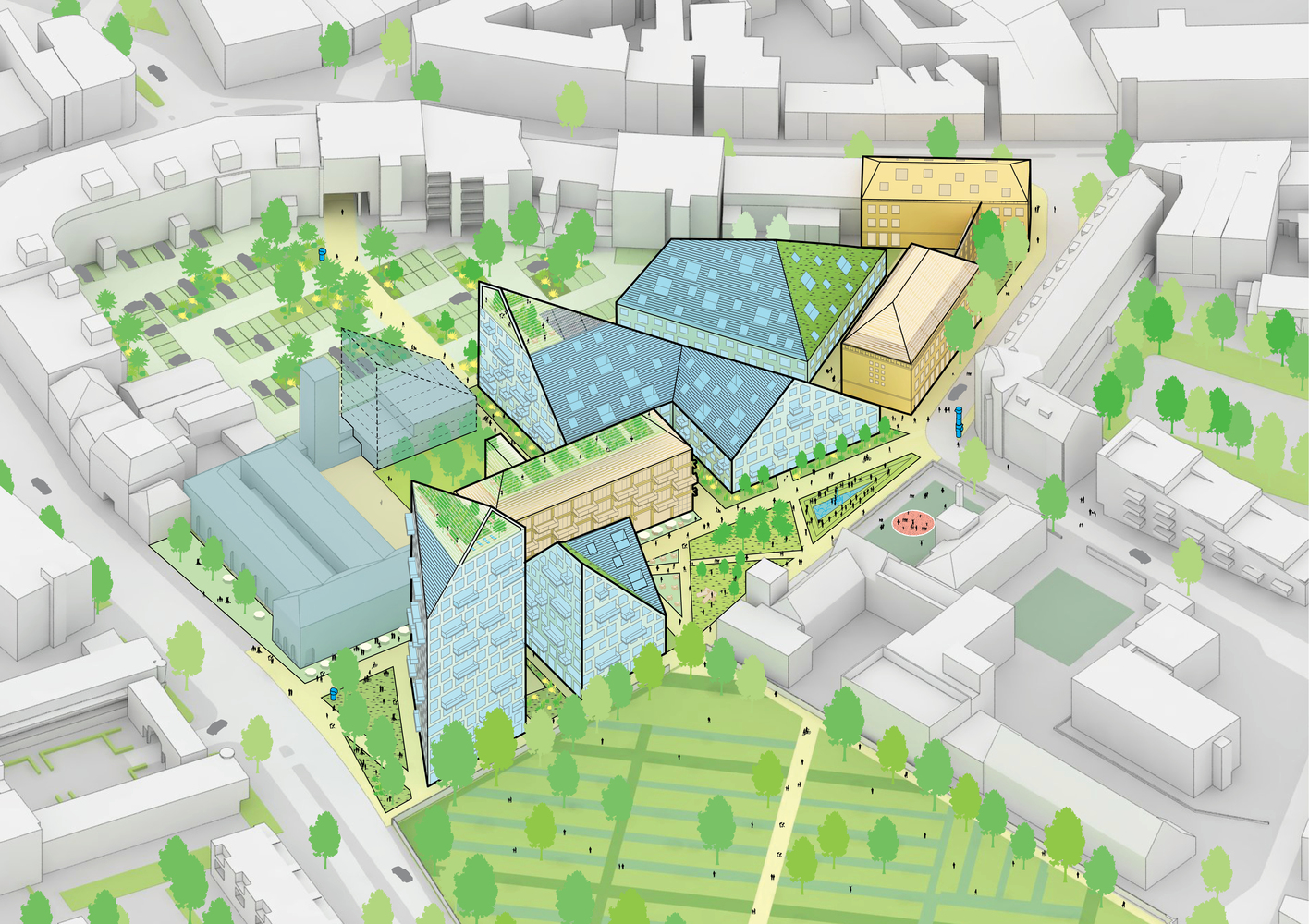 Sustainable Housing Design gallery of mvrdv and sdk vastgoed selected to design sustainable