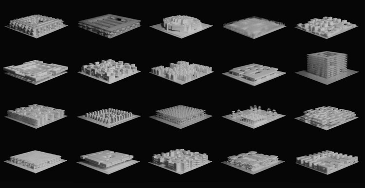 Experiencia Taller UC: Modelos de Repetición y Repetición de Modelos como estrategia de diseño, Cortesía de TALLER DE INVESTIGACION Y PROYECTO MAGISTER EN ARQUITECURA