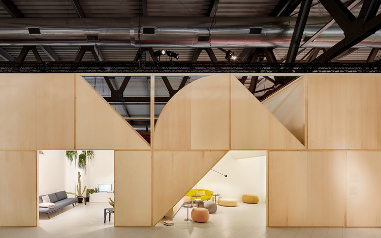 2 Arper Pavilions / MAIO, © Jose Hevia