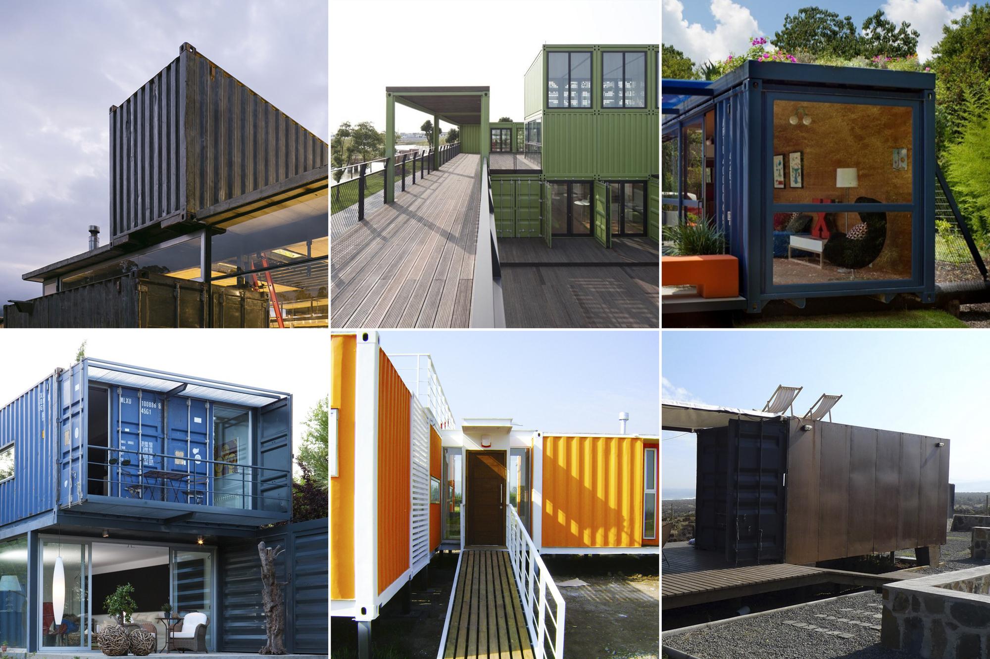 Method in modular 10 floor plans using shipping container for Arquitectura contenedores maritimos