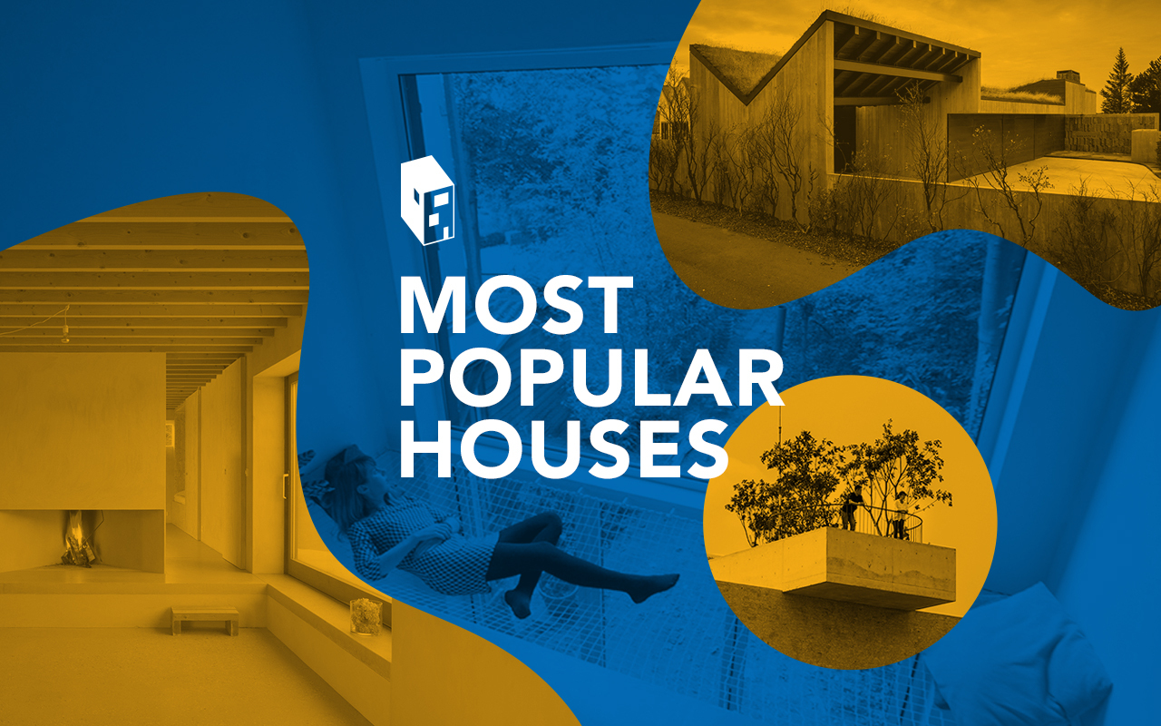 50 most popular houses archdaily