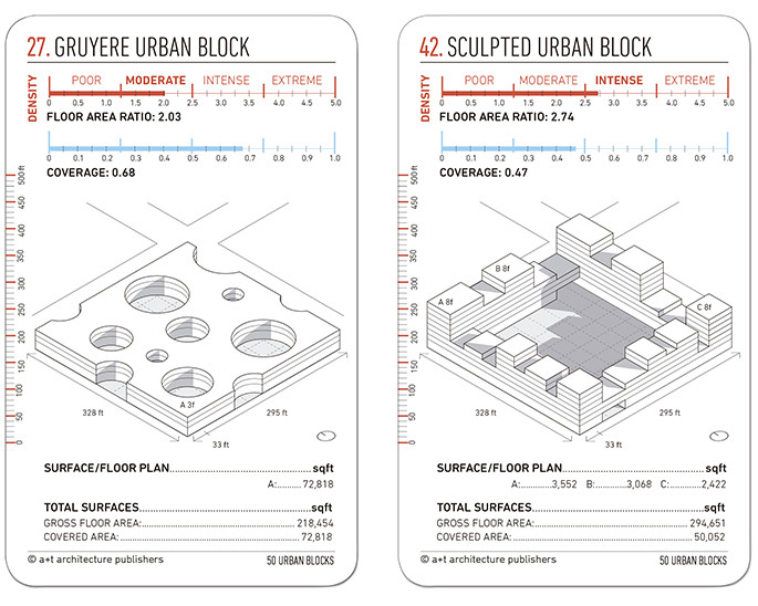 Learn to Design an Urban Block With This Set of 50 Cards, © a+t designing cards
