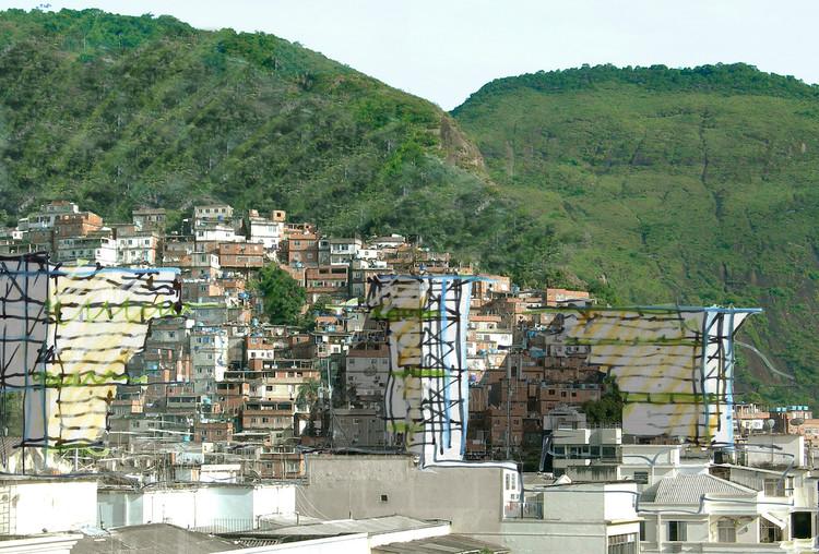 Sobre os concursos de arquitetura no Brasil e a deprimente ausência de inovação / Héctor Vigliecca, Croqui para o Concurso Morar Carioca. Image Cortesia de Vigliecca & Associados