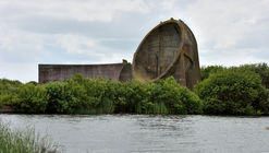These Enormous Concrete Acoustic Mirrors Pepper the British Coastline