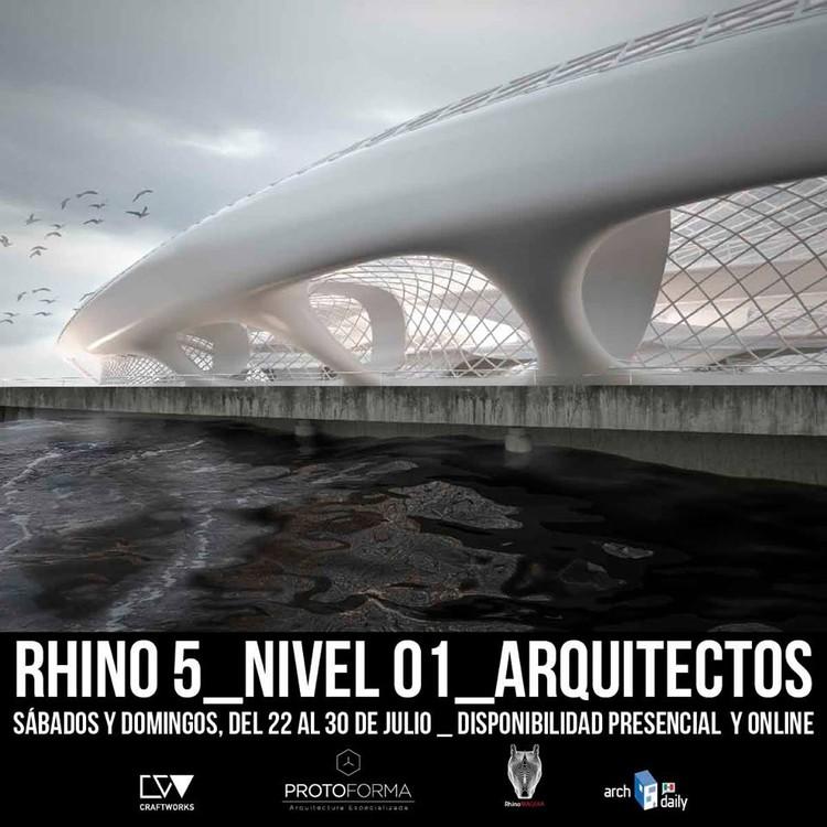 Rhinoceros 5.0 para ARQUITECTOS!