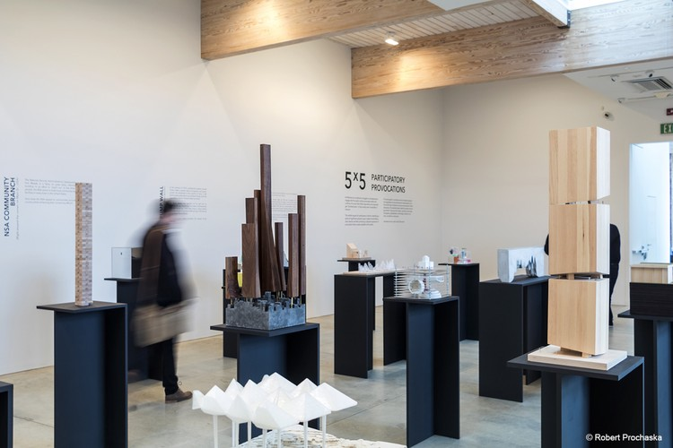 5x5 Exhibition Features 25 Provocative Models by Young Architects, © Robert Prochaska