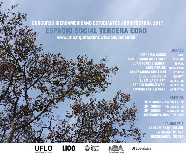 Concurso Iberoamericano Estudiantes Arquitectura 2017 / UFLO + 1:100