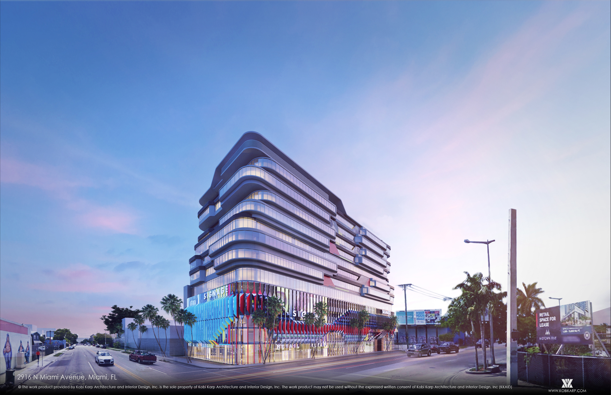 Kobi Karp S Pair Of Mixed Use Developments To Celebrate Wynwood S Culture Of Creativity In Miami Archdaily