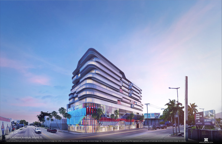 Kobi Karp's Pair of Mixed-Use Developments to Celebrate Wynwood's Culture of Creativity in Miami, Courtesy of Kobi Karp Architecture & Levy Public Relations
