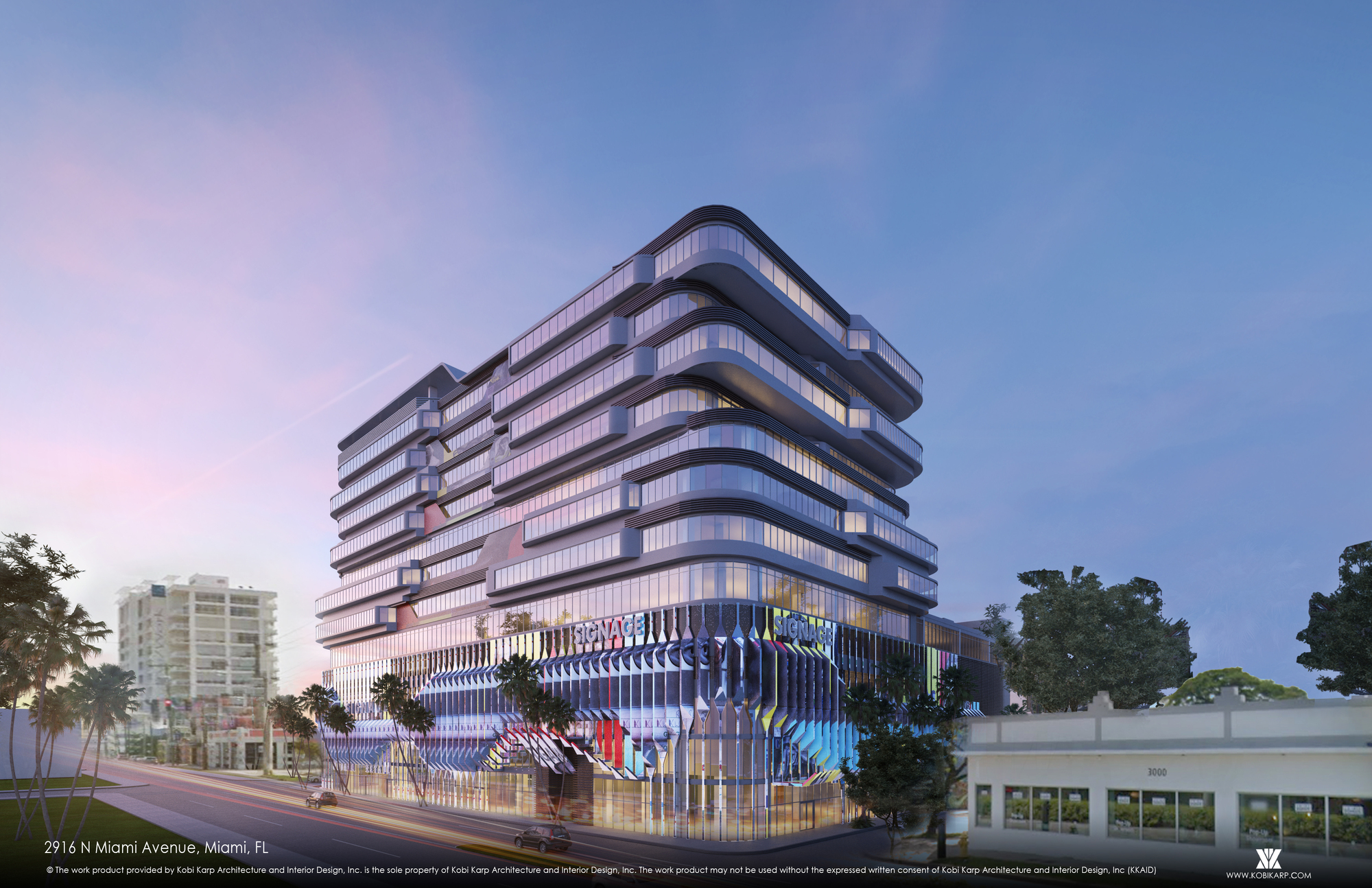 Gallery Of Kobi Karp S Pair Of Mixed Use Developments To Celebrate Wynwood S Culture Of Creativity In Miami 3