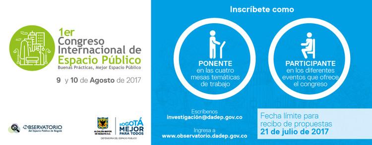 Congreso Internacional de Espacio Público en Bogotá, Observatorio de Espacio Público DADEP