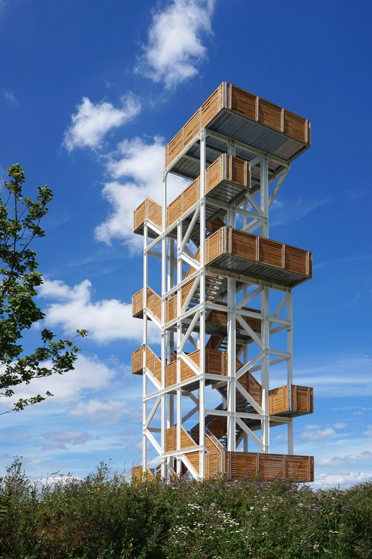 Viewing Tower Hoge Bergse Bos / Ateliereen Architecten, Courtesy of Ateliereen Architecten