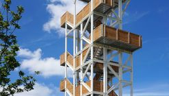Viewing Tower Hoge Bergse Bos / Ateliereen Architecten
