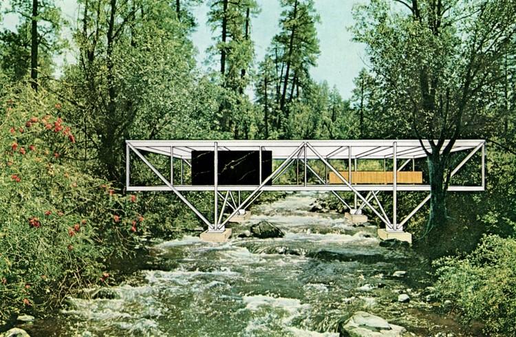 A Casa de Natureza | Oficina intensiva coordenada por Mario Figueroa e Leticia Tamisari (Figueroa.arq) no {CURA}, Ilustração: Bridge House, Craig Ellwood, 1968