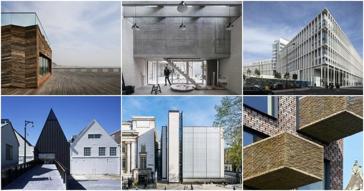 RIBA anuncia os finalistas para o Stirling Prize 2017 de melhor edifício do Reino Unido