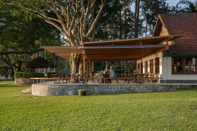 Cobertura Varanda Sede do Yacht Clube Santo Amaro / VD Arquitetura, © Lauro Rocha