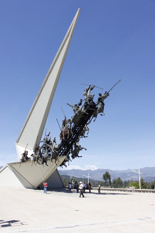 Monumento al pantano de Vargas - Boyacá. Image © Guillermo Vasquez [Flickr], bajo licencia CC BY-SA 2.0