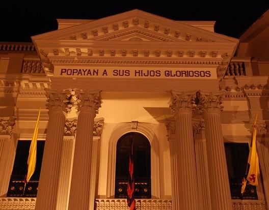 Panteón de los Próceres - Cauca. Image © Universidad del Cauca [Wikimedia], bajo licencia  CC0 1.0 Universal