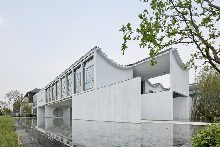 Dongyuan Qianxun Community Center Scenic Architecture Office Archdaily