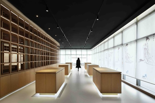 Cultural Innovation Store in the Jiangning Imperial Silk Manufacturing Museum / FANAF