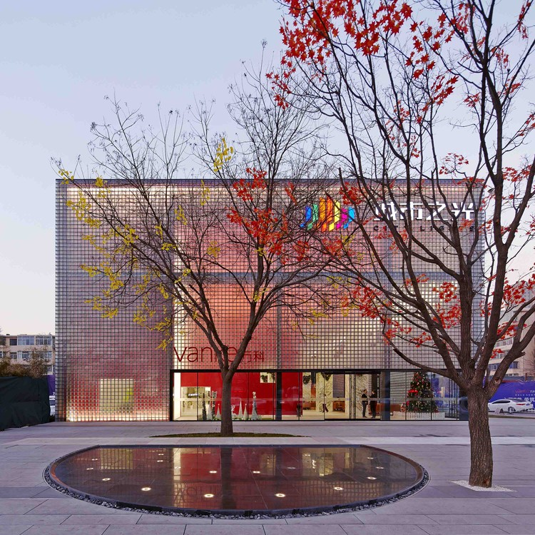 THE CUBE – Taiyuan City of Lights / CLOU architects, © Shuhe